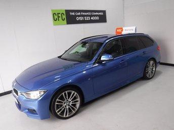 2014 BMW 3 SERIES 2.0 318D M SPORT TOURING 5d AUTO 141 BHP £13000.00