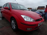 2004 FORD FOCUS 1.6 GHIA 5d AUTOMATIC VERY LOW MILES £2000.00