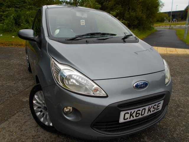 2010 60 FORD KA 1.2 ZETEC 3d 69 BHP ** £30 ROAD TAX, ZETEC EDITION, INSURANCE GROUP 3 , YES ONLY 60K **
