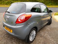 USED 2010 60 FORD KA 1.2 ZETEC 3d 69 BHP ** £30 ROAD TAX, ZETEC EDITION, INSURANCE GROUP 3 , YES ONLY 60K **