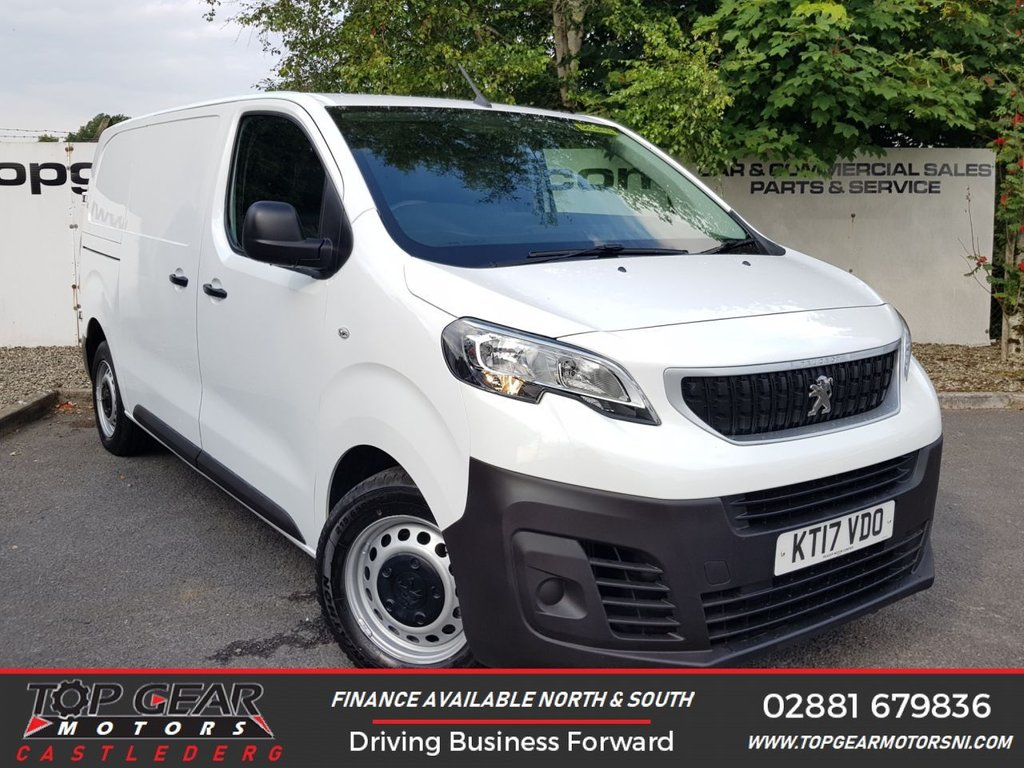 USED 2017 17 PEUGEOT EXPERT 1400 2.0 HDI 120 BHP BLUE PROFESSIONAL**85 VANS IN STOCK**