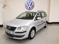 USED 2008 08 VOLKSWAGEN TOURAN 1.9 S TDI 5d 103 BHP 7 Seater / Rear Parking Sensors / Cruise Control