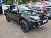 USED 2017 17 MITSUBISHI L200 2.4 DI-D BARBARIAN SVP DCB 4d AUTO 178 BHP 0%  FINANCE AVAILABLE ON THIS CAR PLEASE CALL 01204 393 181
