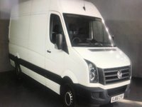 USED 2016 66 VOLKSWAGEN CRAFTER 2.0 CR35 TDI BMT 138 BHP JUST 28K !!! SUPER VALUE ULEZ COMPLIANT !!!!