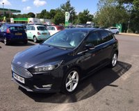 USED 2016 66 FORD FOCUS 1.5 TDCI TITANIUM 120 BHP THIS VEHICLE IS AT SITE 2 - TO VIEW CALL US ON 01903 323333