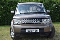 USED 2010 10 LAND ROVER DISCOVERY 2.7 4 TDV6 GS 5d 190 BHP