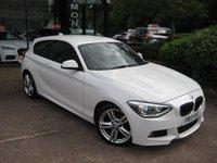 2013 BMW 1 SERIES 1.6 116I M SPORT 3d 135 BHP £8990.00