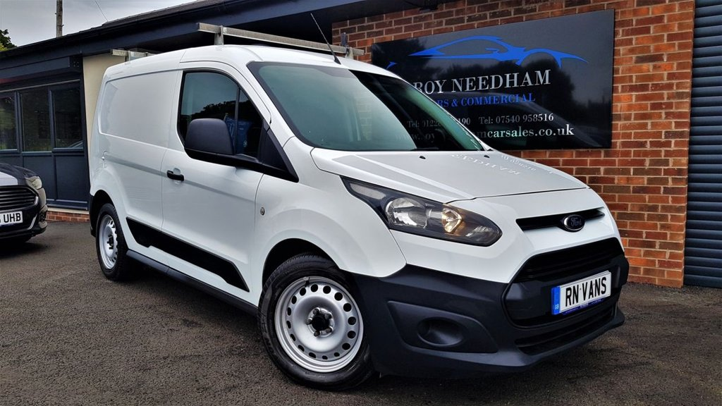 USED 2015 15 FORD TRANSIT CONNECT 1.6 200 ECONETIC P/V 94 BHP *** SHELVING - PLY LINED - 1 OWNER ***