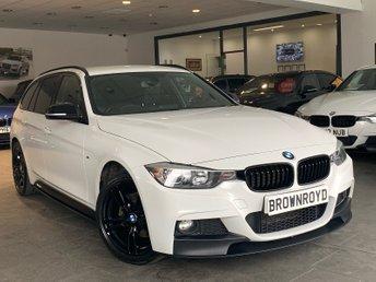 2015 BMW 3 SERIES 2.0 320D XDRIVE M SPORT TOURING 5d AUTO 181 BHP £14490.00
