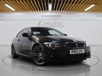 """USED 2012 12 BMW 3 SERIES 2.0 320D M SPORT 2d AUTO 181 BHP LEATHERS 