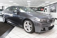 USED 2016 65 BMW 5 SERIES 535D M SPORT AUTO 309 BHP PRO NAV H/KARDON DIGITAL DASH!