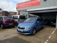 USED 2016 16 SKODA FABIA 1.2 SE TSI DSG 5d AUTO 109 BHP AUTOMATIC WITH A DSG GEARBOX!..ONLY 3720 MILES FROM NEW..CHEAP TO RUN, LOW CO2 EMISSIONS, £20 ROAD TAX AND EXCELLENT FUEL ECONOMY!  GOOD SPECIFICATION INCLUDING ALLOY WHEELS, CLIMATE CONTROL, CRUISE CONTROL.