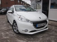 USED 2012 62 PEUGEOT 208 1.4 ACTIVE HDI 3d 68 BHP