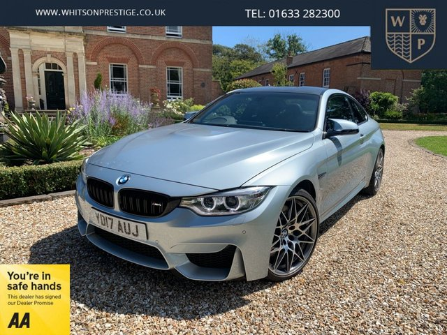 2017 17 BMW 4 SERIES 3.0L M4 COMPETITION PACKAGE 2d 444 BHP
