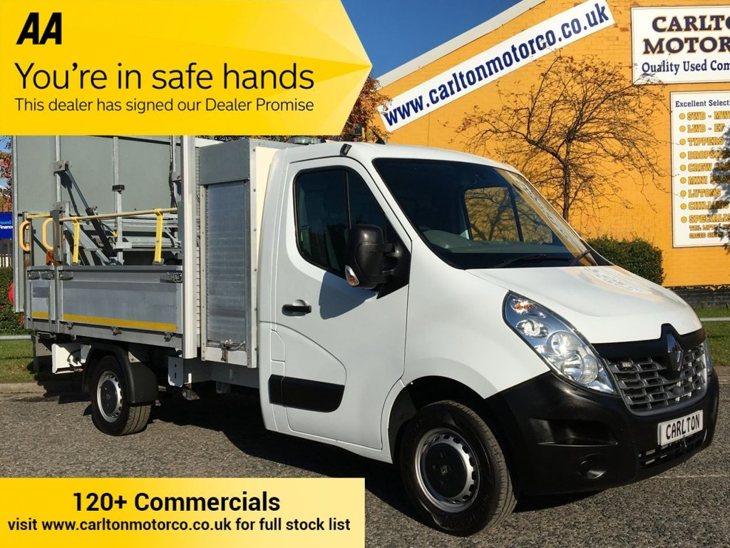 USED 2016 16 RENAULT MASTER 35 DCI 125 DROPSIDE / PICKUP  [ TRAFFIC MANAGEMENT ] RWD