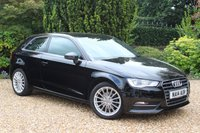 USED 2014 14 AUDI A3 1.4 TFSI SPORT 3d 121 BHP 6 MONTH WARRANTY - 12 MONTH MOT AND SERVICE
