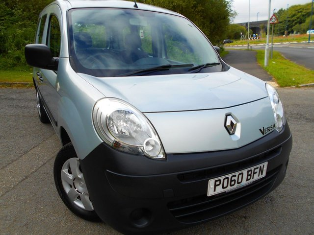 2010 60 RENAULT KANGOO 1.6 EXTREME 16V 5d AUTO 105 BHP VERSA  ** FULLY WHEELCHAIR ACCESSIBLE VEHICLE, AUTOMATIC, YES ONLY 19510 MILES FROM NEW **