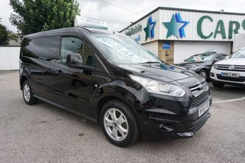 2016 FORD TRANSIT CONNECT 1.5 TDCI 120 L2 240 LIMITED LONG 5DR ( EURO 6 & NO VAT !! ) £14489.00