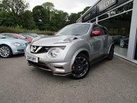 2016 NISSAN JUKE 1.6 NISMO RS DIG-T 5d AUTO 211 BHP £12000.00