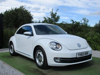2015 VOLKSWAGEN BEETLE 2.0 DESIGN TDI BLUEMOTION TECHNOLOGY 3d 108 BHP £7990.00