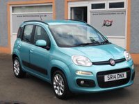"""USED 2014 14 FIAT PANDA 1.2 LOUNGE 5d 69 BHP 15"""" Alloys, Air Con, Electric windows, Front Fog Lights"""