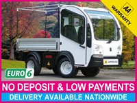USED 2015 64 GOUPIL G3 48V ELECTRIC AUTOMATIC LWB PICK UP LONG WHEEL BASE AUTOMATIC ELECTRIC DROPSIDE PICK UP
