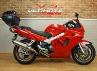 2001 HONDA VFR 800 F 800CC, SPORT TOURER, FULL LUGGAGE  £1695.00