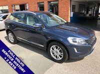 "USED 2013 63 VOLVO XC60 2.4 D4 SE LUX AWD 5DOOR AUTO 178 BHP DAB Radio   :   USB & AUX Sockets   :   Automatic Headlights   :   Cruise Control     Phone Bluetooth Connectivity   :   Climate Control / Air Conditioning   :   Electric Driver Seat  Beige Leather Upholstery   :   Auto Tailgate   :   Rear Parking Sensors   :   18"" Alloy Wheels      2 Keys   :   Full Volvo Service History"