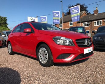 2013 MERCEDES-BENZ A CLASS 1.6 A180 BLUEEFFICIENCY 5d 122 BHP £9995.00