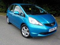 2010 HONDA JAZZ 1.3 I-VTEC ES I-SHIFT 5d AUTO 98 BHP £SOLD