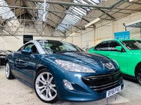 USED 2011 61 PEUGEOT RCZ 1.6 THP GT 2dr HTD + ELEC SEATS!  1 OWN +