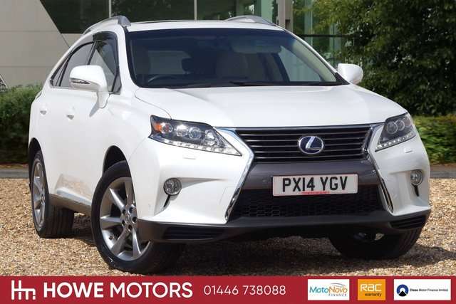 2014 14 LEXUS RX 3.5 450H ADVANCE SUN ROOF 5d AUTO 295 BHP NAVIGATION HTD LEATHER REVERSE CAMERA SUNROOF 19