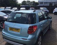 USED 2007 57 SUZUKI SX4 1.6 GLX 5d 106 BHP NO DEPOSIT AVAILABLE, DRIVE AWAY TODAY!!