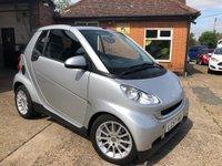 2007 SMART FORTWO CABRIO 1.0 PASSION 2d AUTO 70 BHP £3495.00
