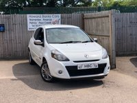 USED 2012 62 RENAULT CLIO 1.1 DYNAMIQUE TOMTOM 16V 3d 75 BHP AN IDEAL FIRST CAR! JUST 3 OWNERS!
