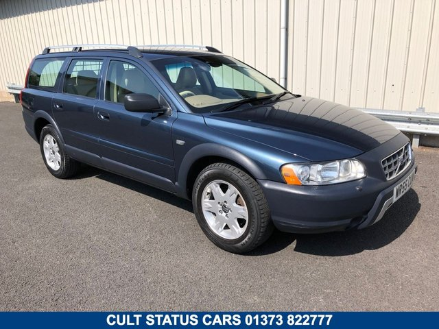 2005 55 VOLVO XC70 2.4 D5 SE AUTO 183 BHP CROSS COUNTRY 4x4 ESTATE