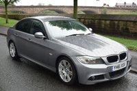 USED 2011 61 BMW 3 SERIES 2.0 320D M SPORT 4d 181 BHP SERVICE HISTORY, SPORTS LEATHER RECARO SEATS, RADIO CD PLAYER, REAR PRIVACY GLASS