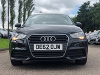 USED 2012 62 AUDI A1 1.6 SPORTBACK TDI SE 5d 105 BHP ZERO ROAD TAX +  VERY CHEAP TO RUN +  MOT JUNE 2020 *  SERVICE RECORD +  1 PREVIOUS KEEPER +