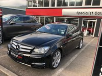 2011 MERCEDES-BENZ C 220 2.1 C220 CDI BLUEEFFICIENCY AMG SPORT ED125 2d AUTO 170 BHP £11595.00