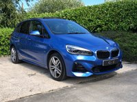"USED 2018 68 BMW 2 SERIES 1.5 225XE M SPORT PREMIUM ACTIVE TOURER 5d AUTO 134 BHP Impressive Hybrid Technology Offering an Economical 114MPG with the Ability to Run on Electric Power Alone. Finished in Estoril Blue Metallic with M Sport Styling, Full Black Dakota Leather Interior and 18"" M Double Spoke Alloy Wheels, this Superb Example is Loaded with High Spec Features Including; Heated Electric Seats with Driver Memory, Full Length Sliding Panoramic Glass Sunroof with Power Blind, Satellite Navigation, Bluetooth Connectivity, DAB"