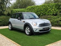 USED 2007 07 MINI HATCH COOPER 1.6 COOPER 3d 118 BHP A Fantastic Low Mileage 2 Owner Car with Contrasting Black Roof and Mirror Caps, 15 Inch Boost Alloy Wheels, On-board Computer, Single CD with Aux Input
