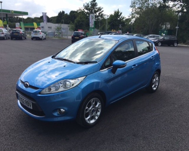 2012 62 FORD FIESTA 1.4 TDCI ZETEC (70PS)