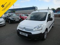 USED 2015 15 CITROEN BERLINGO 1.6 625 ENTERPRISE L1 HDI 1d 74 BHP PANEL VAN