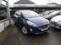 USED 2018 18 FORD FIESTA 1.0 TITANIUM 5d 99 BHP NEED FINANCE? WE CAN HELP!