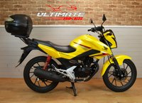 USED 2017 66 HONDA CB125 F (GLR125 1WH-F) 125CC LEARNER LEGAL COMMUTER
