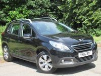 USED 2016 16 PEUGEOT 2008 1.6 BLUE HDI ACTIVE 5d 75 BHP FULL SCREEN SATELLITE NAVIGATION, ALLOYS