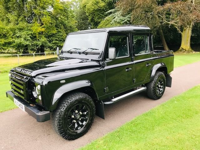 2013 13 LAND ROVER DEFENDER 2.2 TD XS DCB 1d 122 BHP