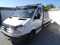 USED 2012 12 MERCEDES-BENZ SPRINTER 2.1 513 CDI C/C LWB 1d 129 BHP MERCEDES SPRINTER CAR  TRANSPORTER FULLY LOADED READY FOR WORK