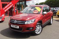 USED 2013 13 VOLKSWAGEN TIGUAN 2.0 SE TDI BLUEMOTION TECHNOLOGY 4MOTION DSG 5d AUTO 138 BHP Detachable Tow Bar!