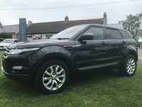 2015 LAND ROVER RANGE ROVER EVOQUE 2.2 SD4 PURE TECH AWD 4X4 BLACK/BLACK LEATHER 1ONWER  £14895.00